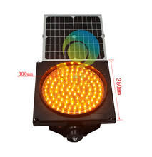 solar powered flashing yellow light buy solar signal light and get free shipping on aliexpress com