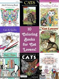 10 cat lover friendly color books for adults diycandy