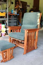 How To Upholster Dining Room Chairs by How To Recover A Glider Rocking Chair Photo Tutorial