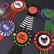 halloween paper award ribbons printable paper craft pdf