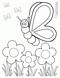 spring coloring pages free printables coloring home