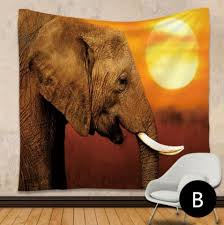 elephant living room 3d elephant tapestry wall hanging for living room indian rectangle