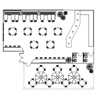 floor plan for a restaurant restaurant floor plan exles