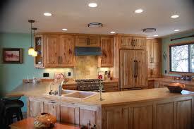 Stained Hickory Cabinets Colorado Design U0026 Cabinetry Mancos Colorado Custom Built