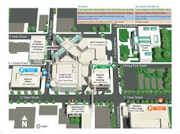Illinois State Campus Map by Ohiohealth Grant Medical Center In Columbus Ohio