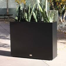 Tall Galvanized Planter by Veradek Metallic Series Span Galvanized Steel Planter Box