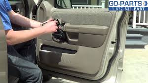 Ford Ranger Interior Parts Replace 2001 2005 Ford Explorer Door Panel How To Change Install