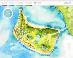 fiji resort map fijian resort interactive map andrea muller design portfolio
