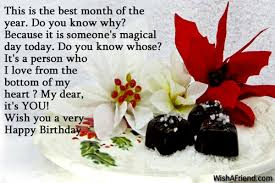 this is the best month of happy birthday wishes