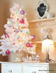 tabletop trees tree decorating ideas
