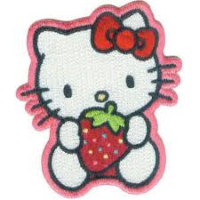 Hello Kitty Halloween Basket by C Visionary Hello Kitty Patches Strawberry Sweet Joann