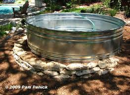 How To Make A Patio Pond How To Make A Container Pond In A Stock Tank Diggingdigging