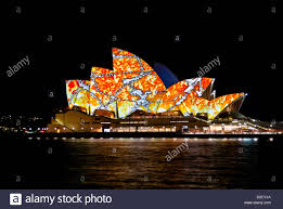 Sydney Opera House Animated Artwork Projections U0027lighting The