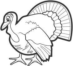 turkey template clipart 50