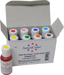 americolor soft gel paste food color kits