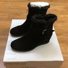 geox womens boots uk geox wedge ankle boots for ebay