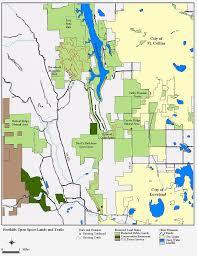 Buckeye Trail Map Rimrock Open Space Larimer County
