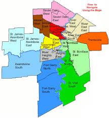 winnipeg map 2011 census census city of winnipeg