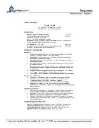 cover letter skill set resume examples skill set resume examples
