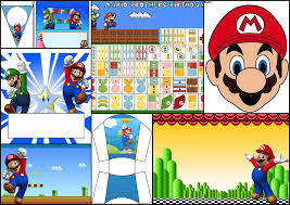 Super Mario Decorations Super Mario Bros Free Printables Party Decoration Ideas And More