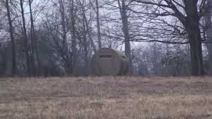 How To Make A Hay Bail Blind Home Made Round Bale Of Hay Hunting Blind Youtube
