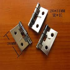 26 31mm 50pcs spring hinges for furniture wooden jewelry box
