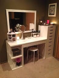 Diy Vanity Table Makeup Table Idea 5 Makeup Organizer Ideas Diy Makeup Vanity
