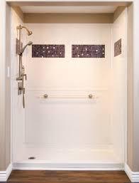 best bath designer series shower unit with tile inlay options bath