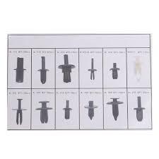 nissan murano door trim clips platstic 350pcs 12 sizes car push pin rivet trim clip panel