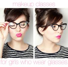 make up classes for makeup classes for who wear glasses moss optical