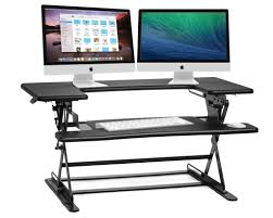 Cubicle Standing Desk The 6 Best Adjustable Standing Desks In 2017 Top Reviews