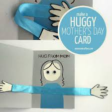 s day cards for kids make a huggy s day card craft and crafters