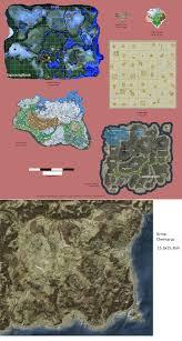 map size comparison map size comparison breath of the vs skyrim vs ark