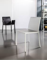 When White Leather Dining Chairs Sanctuary Dining Chair Side Chairs At Hom