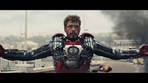 iron man all suit up scenes youtube