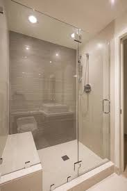 Stand Up Bathroom Shower Bathroom Shower Tub Combo Glass Doors Bathrooms And Showers