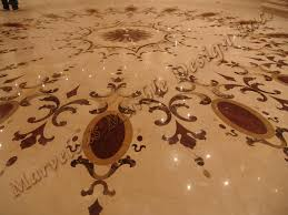 marble floor patterns water jet cut marble medallion and
