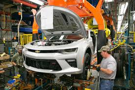 sixth camaro michigan s lansing grand river plant gears up for 2016 chevy