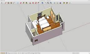 room planning 3d modeling with google sketchup