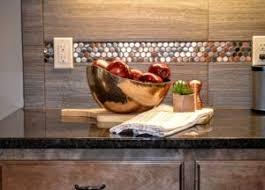 Copper Penny Tile Backsplash - fluff interior design casual southwestern comfort