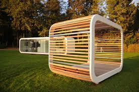 fertig mikrohaus modul holz modern pergola coodo poolhouse