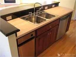 a variety of kitchens t r builder inc kitchen with butcher block countertop