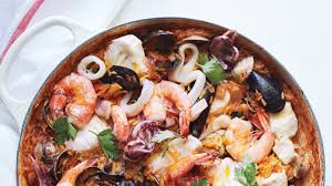 Seafood Recipes For Entertaining Martha by One Pot Seafood Orzo Risotto
