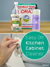 how to remove odor from wood cabinets easy to make homemade kitchen cabinet cleaner wood cabinet cleaner