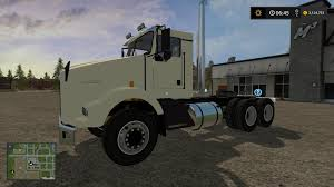 kenworth k series kst kenworth t800 dual axle for that one guy v1 0 fs17 farming