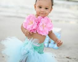 Infant Mermaid Halloween Costume Handmade Costumes Tutus Dresses Pageant Wear Willowlanecostumes