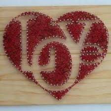 Heart Home Decor 286 Best String Art Images On Pinterest String Art Frames And