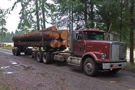 international semi truck international harvester log truck mule train