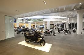 bmw dealership interior bmw motorrad italia italy fiandre