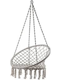 amazon com two u0027s company hanging rattan chair kitchen u0026 dining